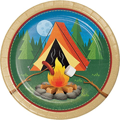 Camping Paper Plates, 24 ct