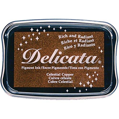 Tsukineko Delicata Celestial Copper Metallic Pigment Inkpad