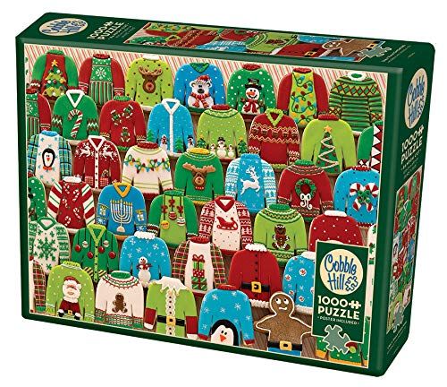 Cobble Hill 1000 Piece Ugly Xmas Sweaters Puzzle Standard