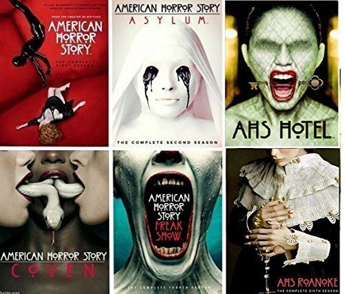 Media DVD American Horror Story: The Complete Series Seasons 1-6 DVD