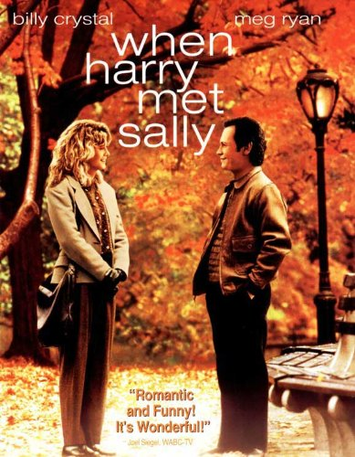 Pop Culture Graphics When Harry Met Sally Poster Movie B 11x17 Billy Crystal Meg Ryan Carrie Fisher Bruno Kirby