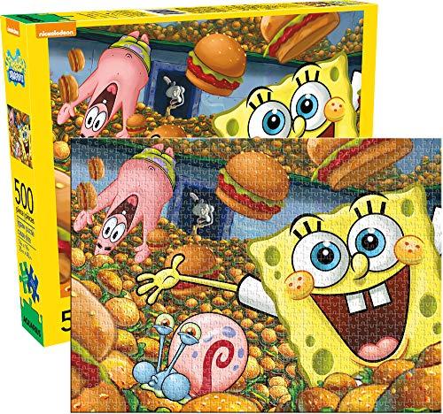 Aquarius Sponge Bob Square Pants 500 Piece Jigsaw Puzzle
