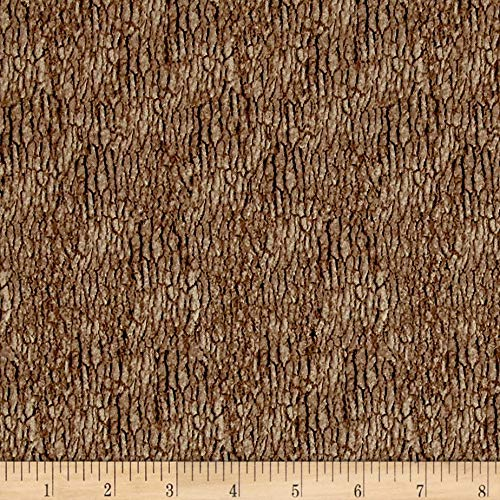 Blank Quilting 0514050 Natural Treasures 2 Tree Bark Brown Fabric by the Yard