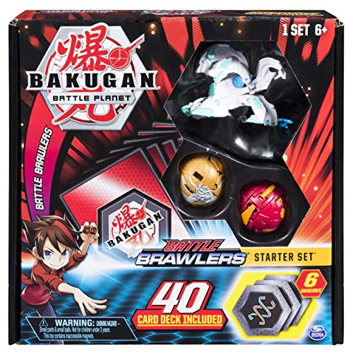 Bakugan, Battle Brawlers Starter Set Transforming Creatures, Haos Howlkor, for Ages 6 and Up