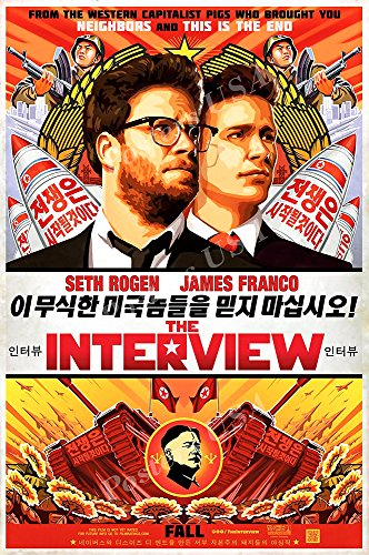 Posters USA - The Interview Movie Poster GLOSSY FINISH - MOV499 (24' x 36' (61cm x 91.5cm))