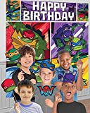 Rise of the TMNT Scene Setters with Props Teenage Mutant Ninja Turtles Party Supplies