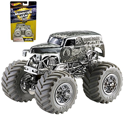 Hot Wheels Monster Jam 25th Anniversary Collection Grave Digger Die-Cast Vehicle