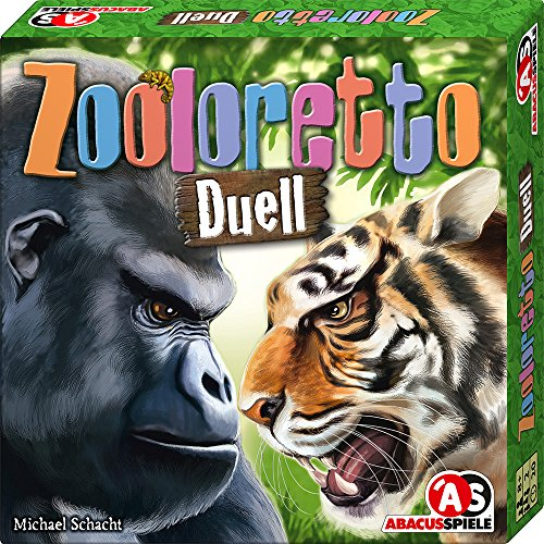 ABACUSSPIELE ABA06173 Zooloretto Duell Board Game