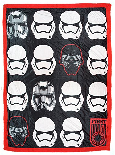 Star Wars: First Order Mink Sherpa Throw Blanket