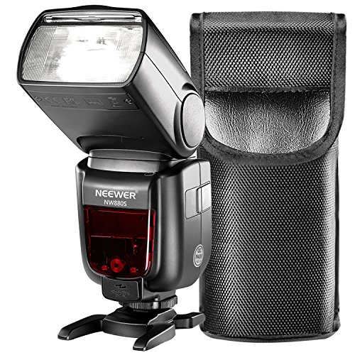 Neewer 2.4G HSS 1/8000s TTL GN60 Wireless Master Slave Flash Speedlite for Sony a9 a7III a7RIII a7II a7RII a7SII a7 a7R a7S a6500 a6300 a6000 a77II RX10II/III/IV Cameras(NW880S)