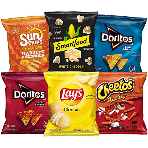 Frito-Lay Classic Mix Snacks Variety Pack, 35 Count