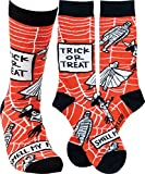 Primitives by Kathy LOL Made You Smile Silly Socks, One Size, Trick or Treat