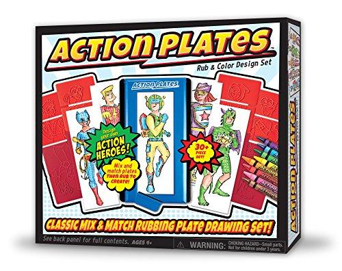 Kahootz Action Plates Drawing Set