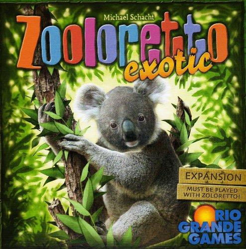 Rio Grande Games Zooloretto Exotic Expansion