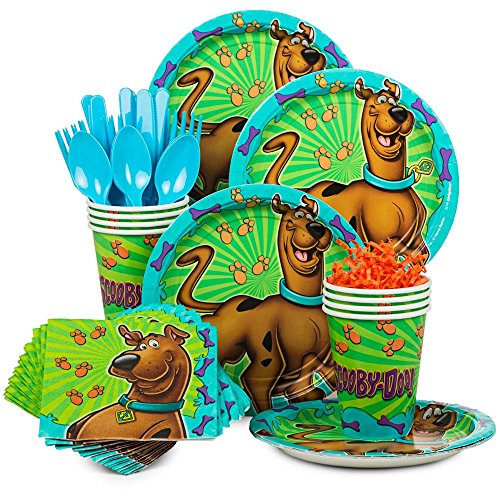 Costume SuperCenter Scooby Doo Party Supplies Kit (Serves 8)