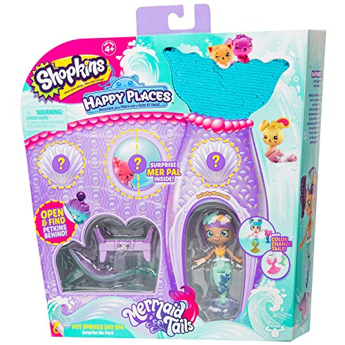 Shopkins Happy Places Surprise Me Pack - Hot Springs Day Spa